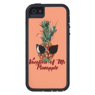 Pineapple vacations. Humor print iPhone 5 Cases
