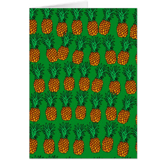 Pineapple Wallpaper Card