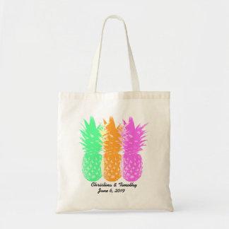 Pineapple Wedding Welcome Bag,Wedding Favor Budget Tote Bag