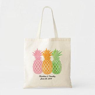 Pineapple Wedding Welcome Bag|Wedding Favor Budget Tote Bag
