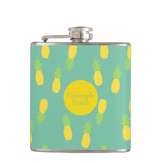 Pineapple Wrap Hip Flask