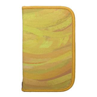 Pineapple Yellow Swirl Planners