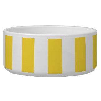 Pineapple Yellow White XL Stripes Pattern