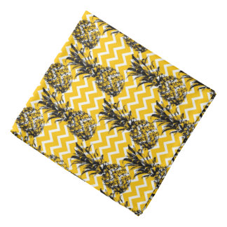 Pineapple Zigzags Bandana
