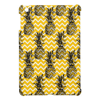 Pineapple Zigzags iPad Mini Covers