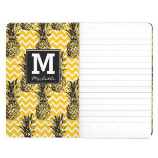 Pineapple Zigzags   Monogram Journals
