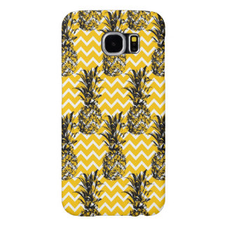 Pineapple Zigzags Samsung Galaxy S6 Cases