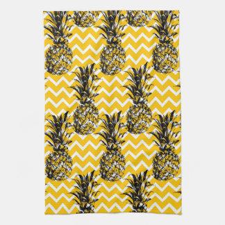 Pineapple Zigzags Tea Towel