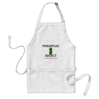 Pineapples Addict Standard Apron