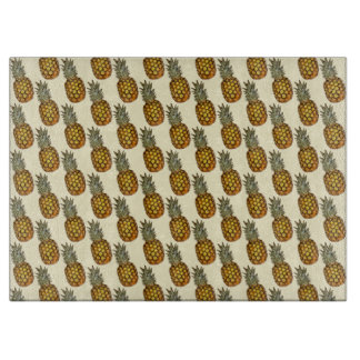 Pineapples Cutting Board