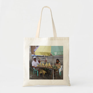 Pineapples for sale budget tote bag