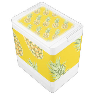 Pineapples Igloo Cooler