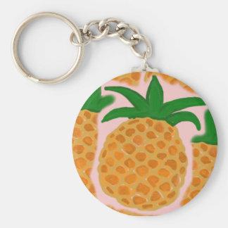 Pineapples Keychain