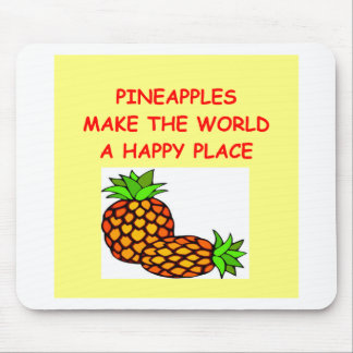 pineapples mouse mat
