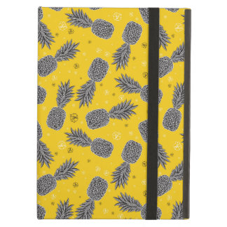 Pineapples On Gold iPad Air Covers