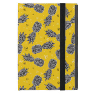 Pineapples On Gold iPad Mini Cover