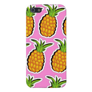Pineapples on Pink iPhone 5/5S Case