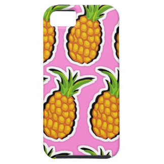 Pineapples on Pink iPhone 5 Case