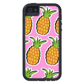 Pineapples on Pink iPhone 5 Cases