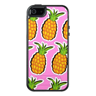 Pineapples on Pink OtterBox iPhone 5/5s/SE Case