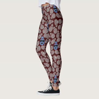 """pineapples"" Trendy Leggings"