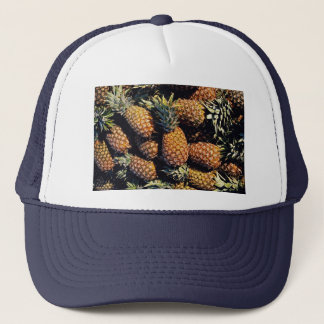Pineapples, Tulum, Mexico Trucker Hat