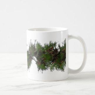 Pinecone Garland - Mug