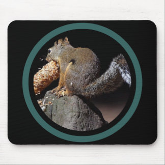 Pinecone Squirrel - Multi Frame Mouse Mat