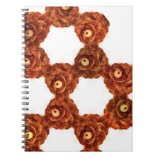 Pinecone Wreath Notebook