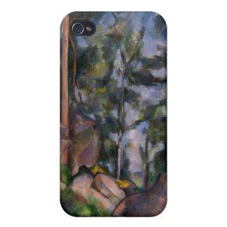 Pines and Rocks (Pins et Rochers) Paul Cézanne iPhone 4/4S Case