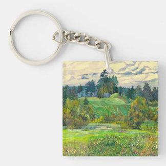 Pines Key Ring