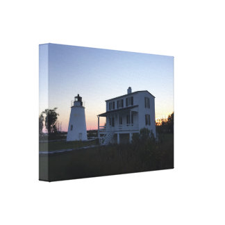 Piney Point Lighthouse Canvas