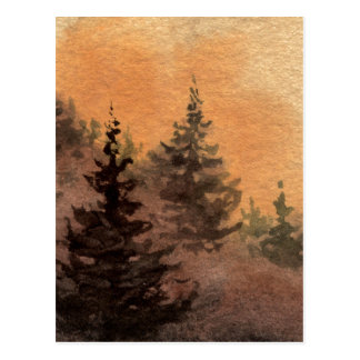 """""""Piney Slope"""" Country Roads Postcard"""