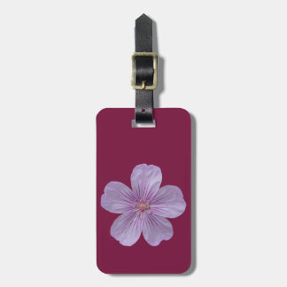 Pineywoods Geranium #1 Bag Tag