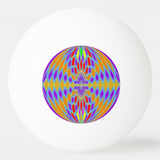 Ping Ping Ball - coloured mosaic effect