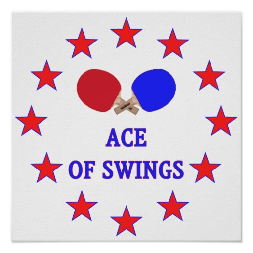Ping Pong Ace of Swings Poster