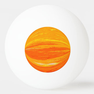 Ping Pong Ball - Oranges and Yellows abstract