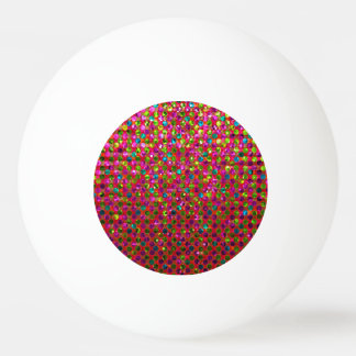 Ping Pong Ball Polka Dots Sparkley Jewels
