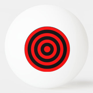 Ping Pong Ball - Red to Black to Red circles