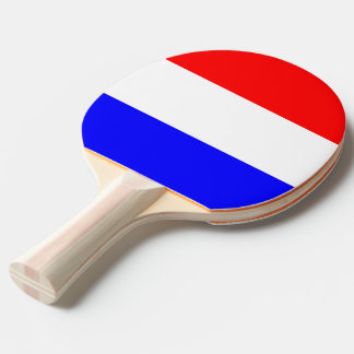 Ping Pong Bat in Rood-Wit-Blauw