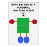 Ping Pong Birthday