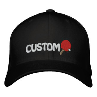 Ping Pong Champ Hat Table Tennis Customizable Embroidered Hat