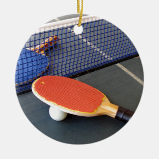 Ping Pong Christmas Ornament