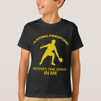 Ping Pong DESIGNS T-Shirt