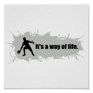 Ping Pong is a Way of Life Poster