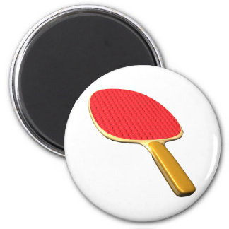 Ping Pong Paddle Refrigerator Magnets