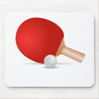 Ping Pong Paddle Mousepad