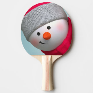 Ping Pong Paddle/Snowman Ping Pong Paddle