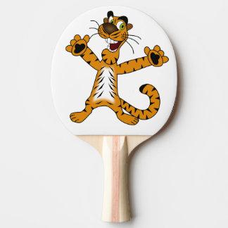 Ping Pong Paddle. Tiger.
