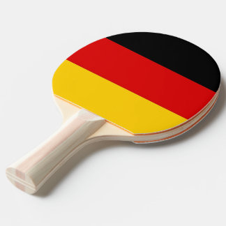 Ping pong paddle with Flag of Germany